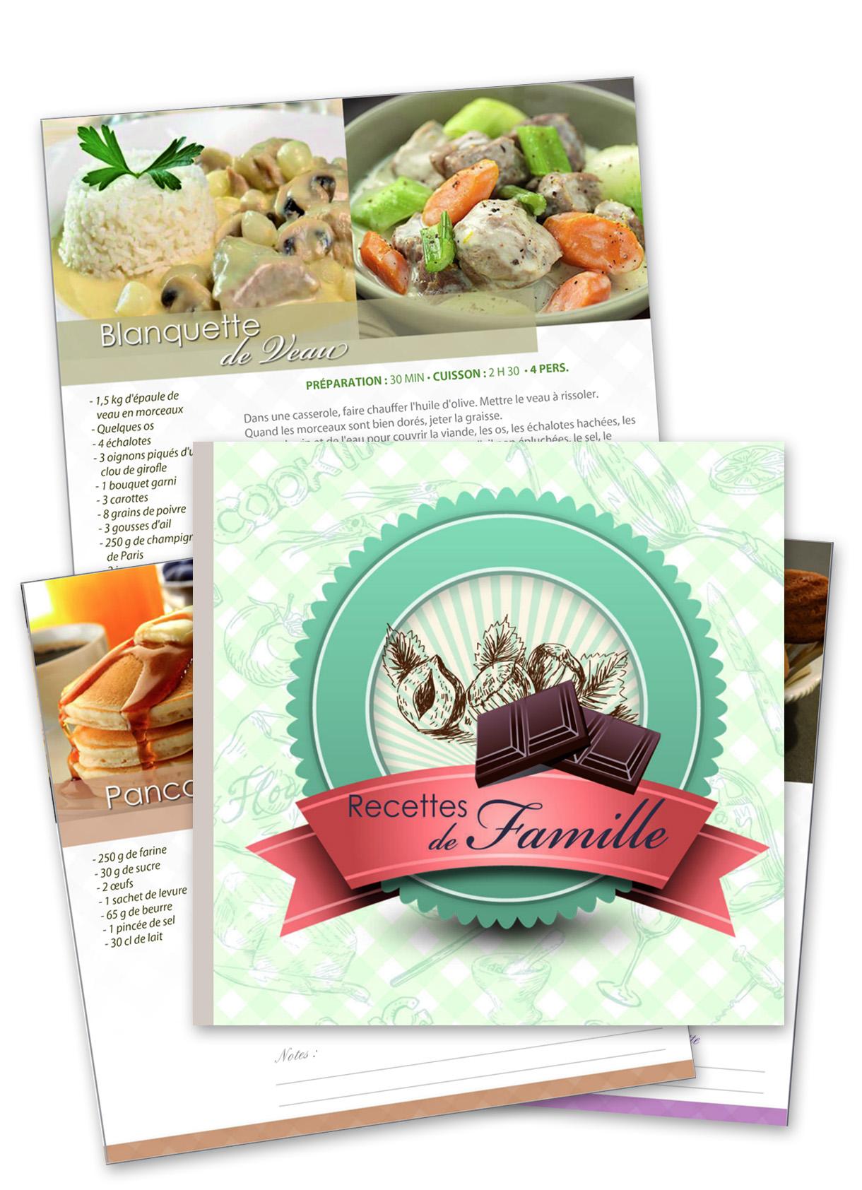 Livre de recettes de famille