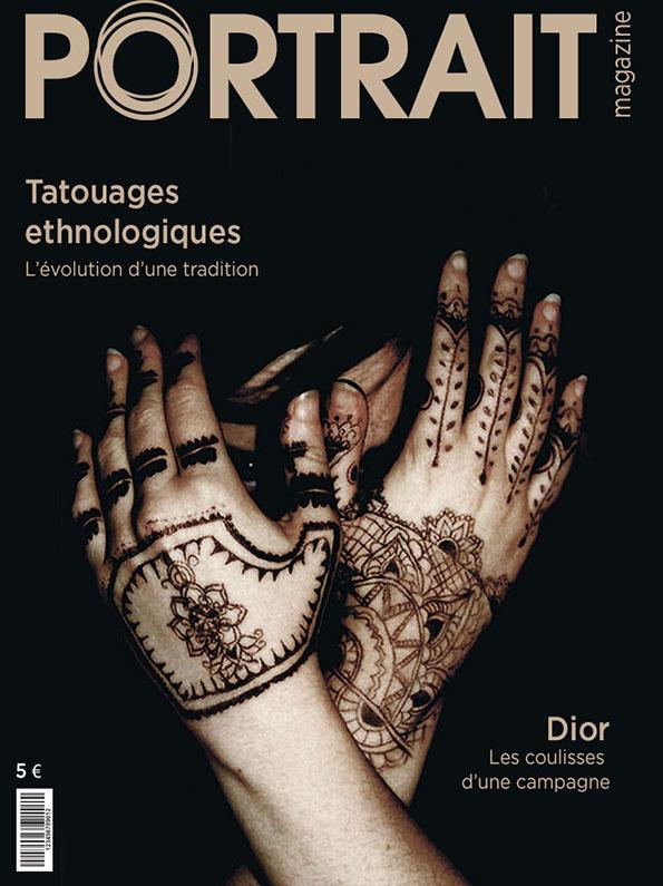 """Couverture du magazine """"Portrait"""""""