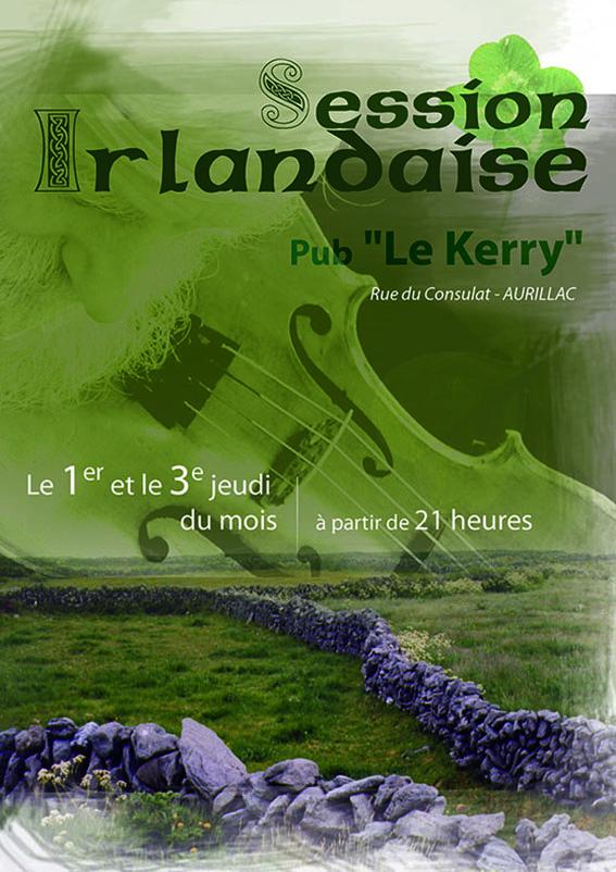 AFFICHE - sessions irlandaises