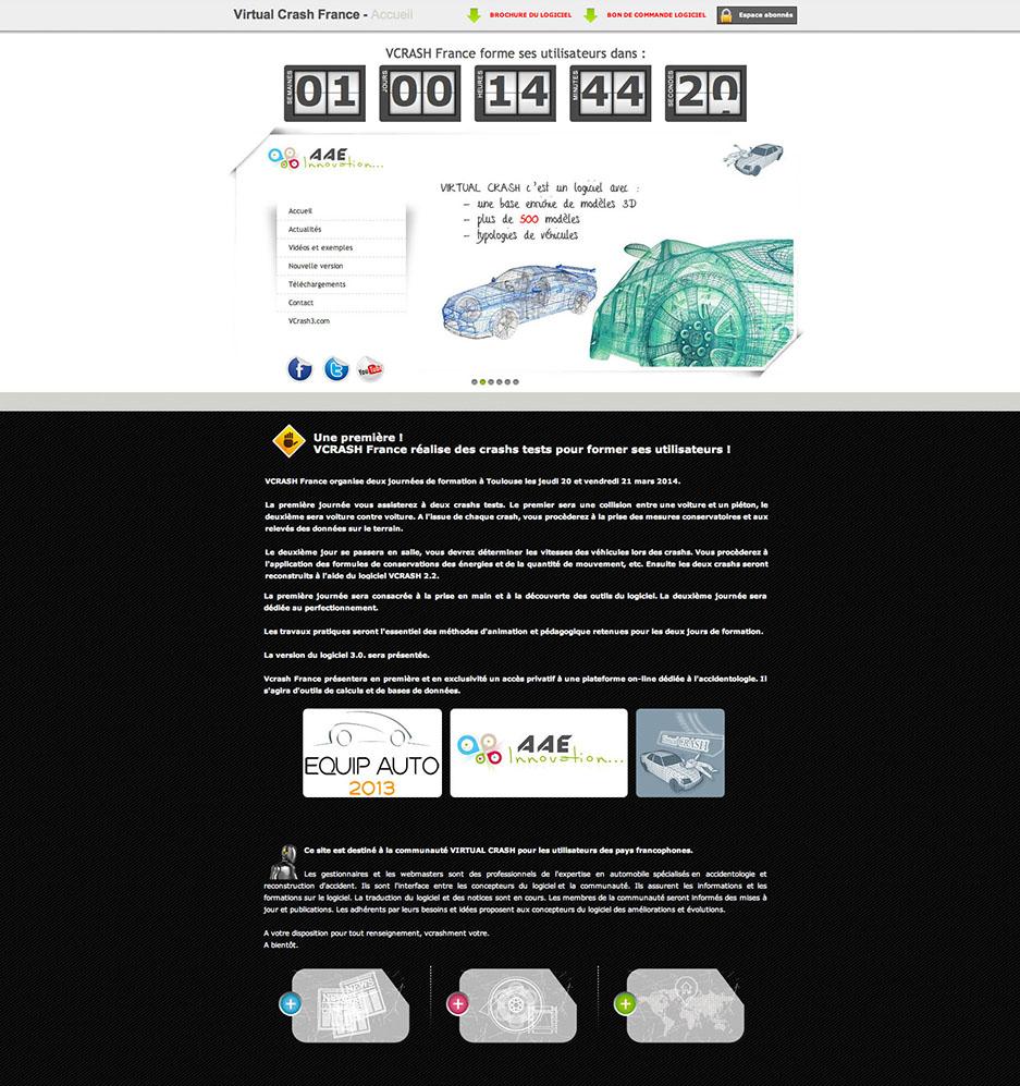 Charte du site Vcrash