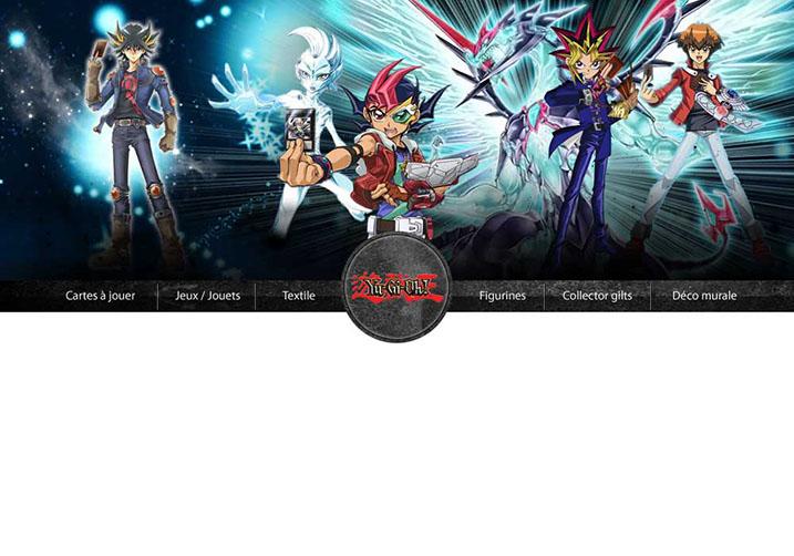 Bandeau de site de jeux Volcans et Dragons