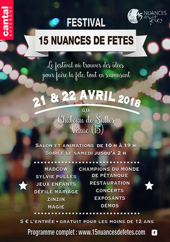 Festival 15 nuances de fêtes