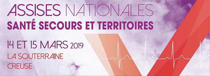 Bannière Assises Nationales Secours Santé et Territoire
