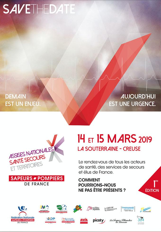 Invitation verso Assises Nationales Secours Santé et Territoire