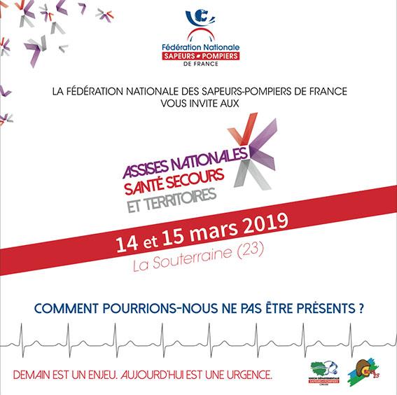 Invitation recto Assises Nationales Secours Santé et Territoire