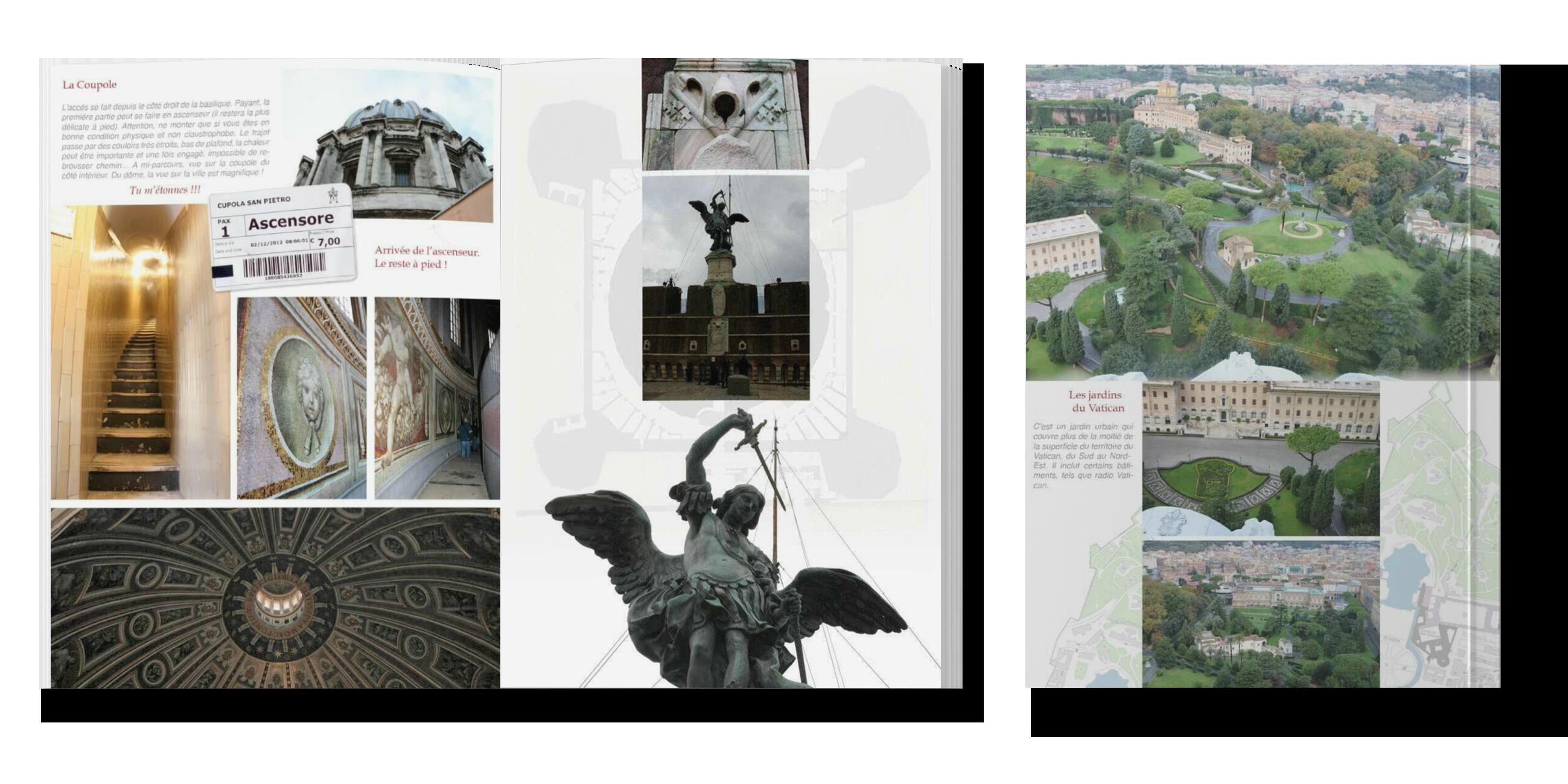 Pages du livre Rome
