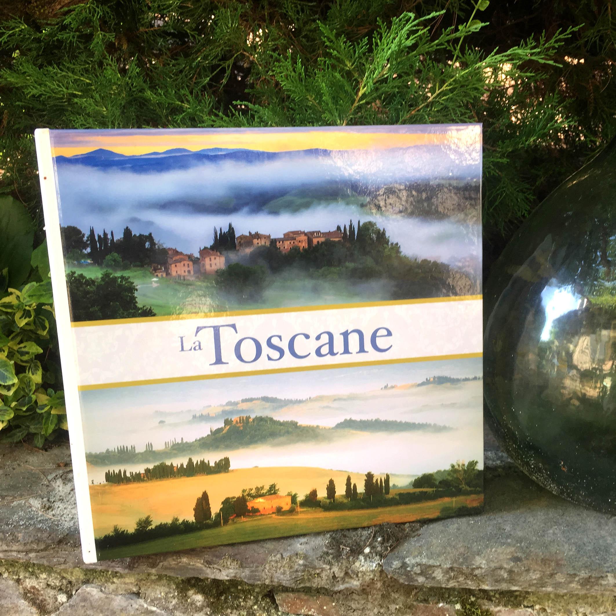 Livre photo Toscane