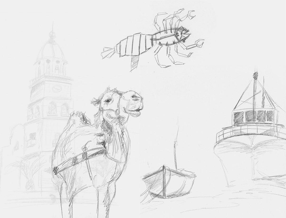 Illustrations des livres Canaries